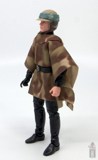 star wars the black series luke skywalker endor figure review -left side