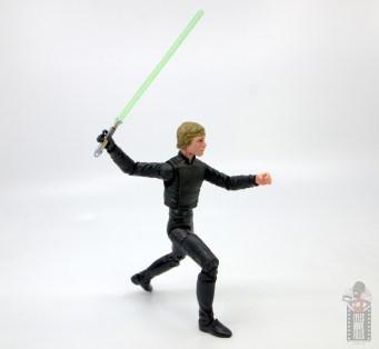 star wars the black series luke skywalker endor figure review -shoulder range