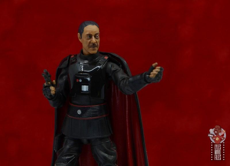 star wars the black series moff gideon figure review - calling for grogu