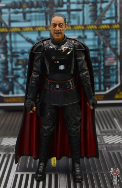 star wars the black series moff gideon figure review - front