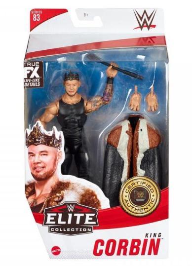 wwe elite 83 king corbin -package front