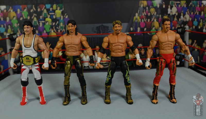 wwe legends series 8 eddie guerrero figure review - with wcw, attitude and ruthless aggression versions