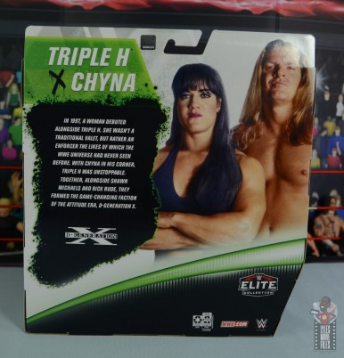 wwe triple h and chyna figure set review - package rear
