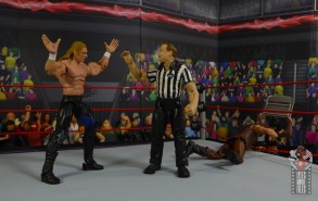 wwe triple h and chyna figure set review - triple h distracting the ref