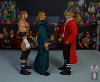 wwe triple h and chyna figure set review - triple h facing ra and new generation eras
