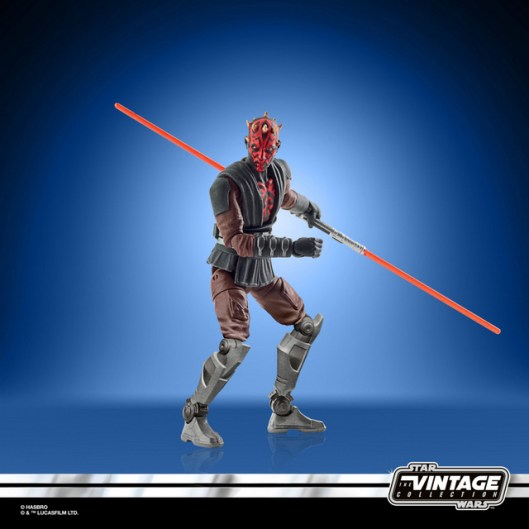 STAR WARS THE VINTAGE COLLECTION 3.75-INCH DARTH MAUL (MANDALORE) Figure - oop (3)