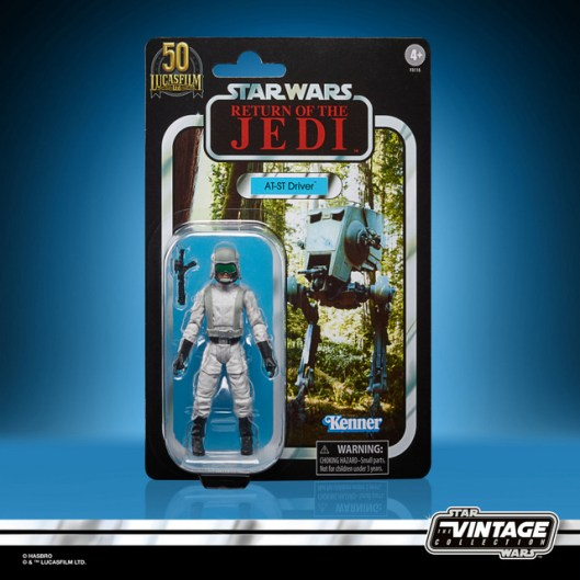 STAR WARS THE VINTAGE COLLECTION LUCASFILM FIRST 50 YEARS 3.75-INCH AT-ST DRIVER Figure - in pck