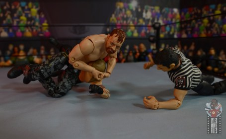 aew unrivaled jon moxley figure review -headlock to chris jericho