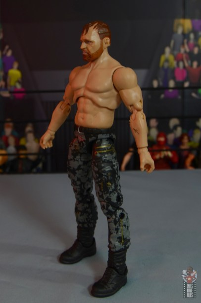 aew unrivaled jon moxley figure review -left side