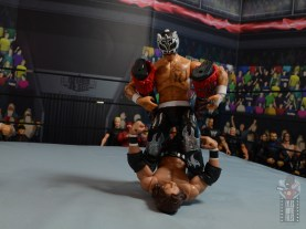 aew unrivaled rey fenix figure review - fold up pin