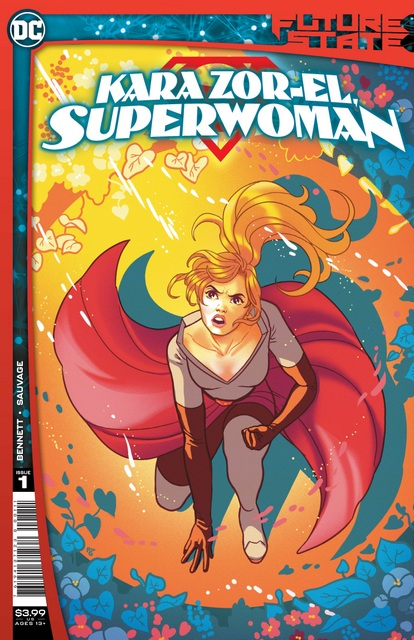 future state kara zor-el superwoman #1 cover