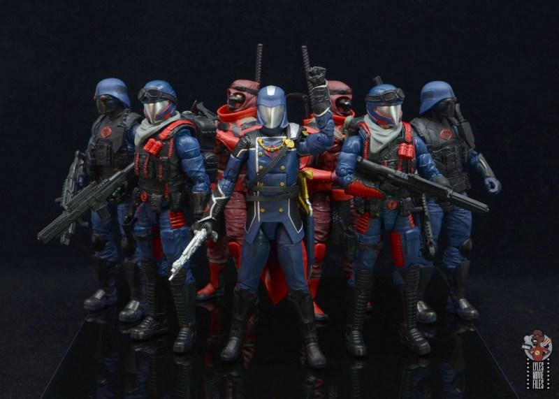 gi joe classified series cobra viper figure review - cobra army with cobra commander
