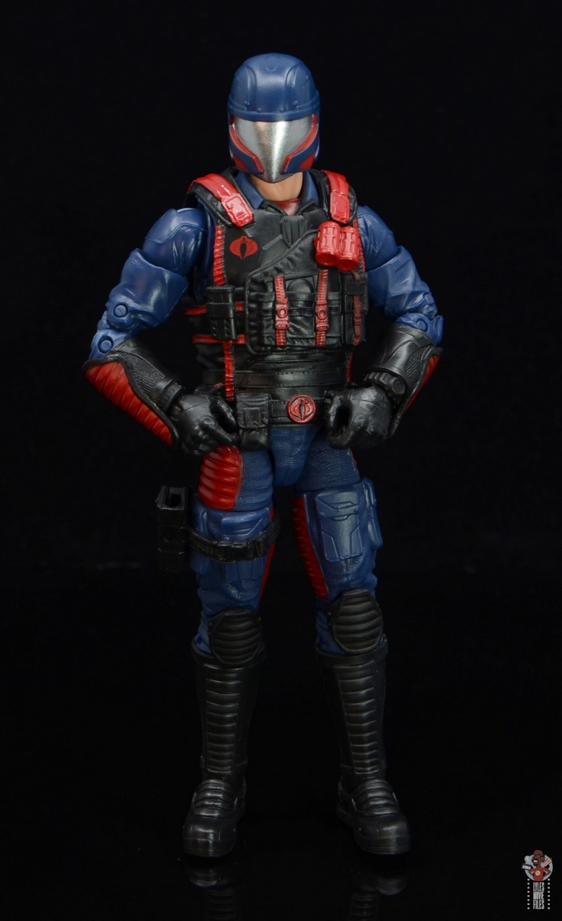 gi joe classified series cobra viper figure review - hands on hips