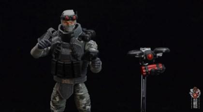 gi joe classified series firefly figure review - deploying drone