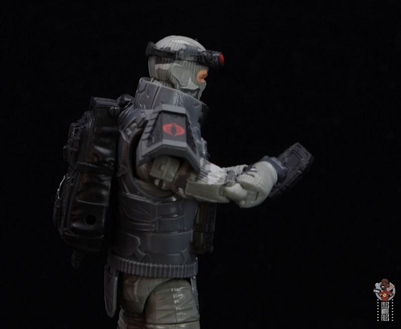 gi joe classified series firefly figure review - launching the drone