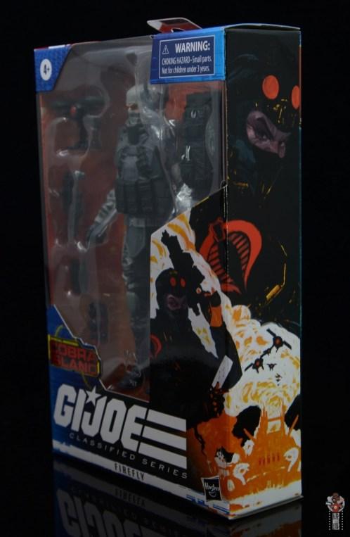 gi joe classified series firefly figure review - package artwork side