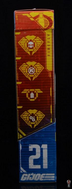 gi joe classified series firefly figure review - package side