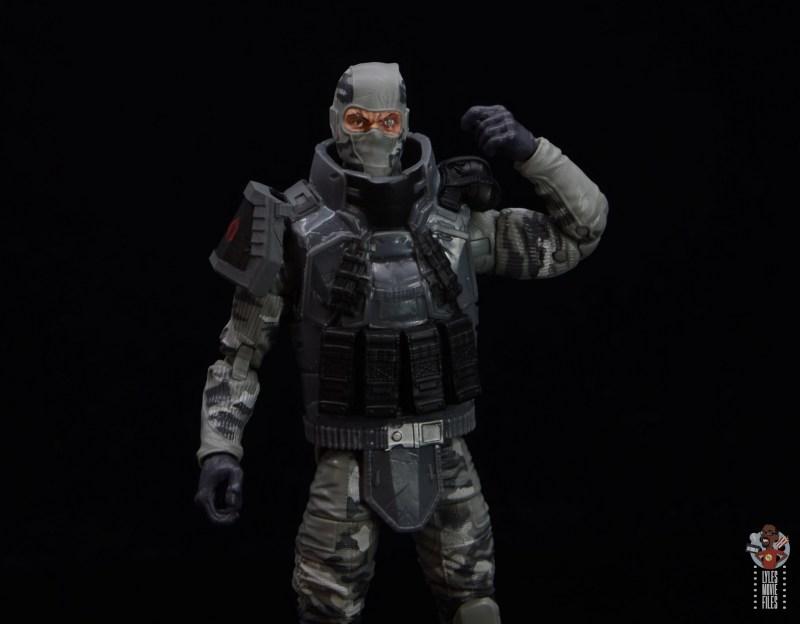 gi joe classified series firefly figure review - reaching for grenades