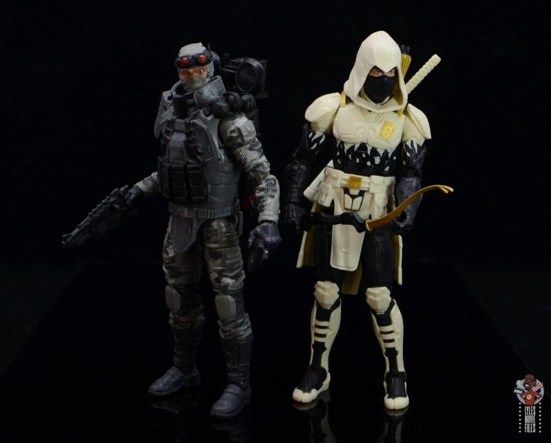 gi joe classified series firefly figure review -with storm shadow