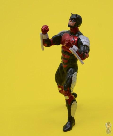 marvel legends retro vintage daredevil figure review -looking up