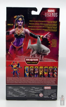 marvel legends shiklah figure review - package rear