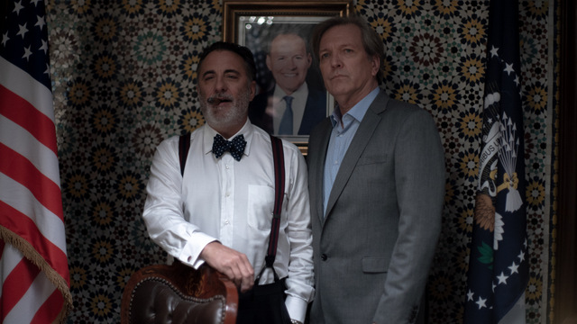 redemption day review - andy garcia and martin donovan