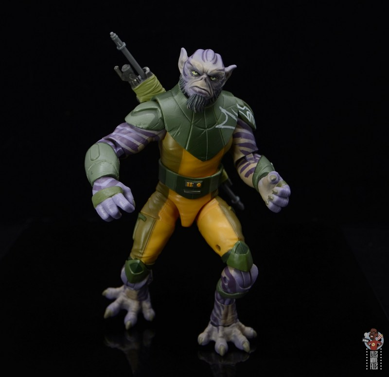 star wars the black series zeb orrelios figure review - crouching