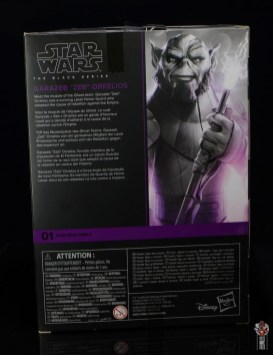 star wars the black series zeb orrelios figure review - package rear