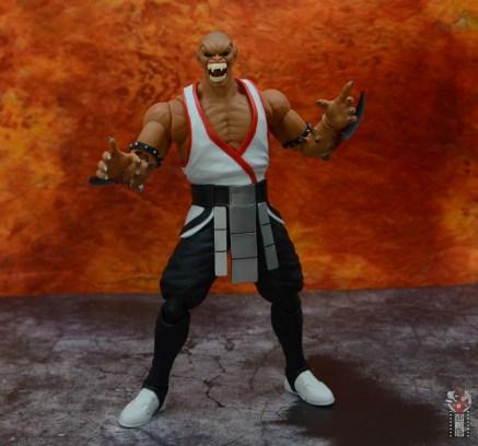 storm collectibles mortal kombat baraka figure review - battle ready