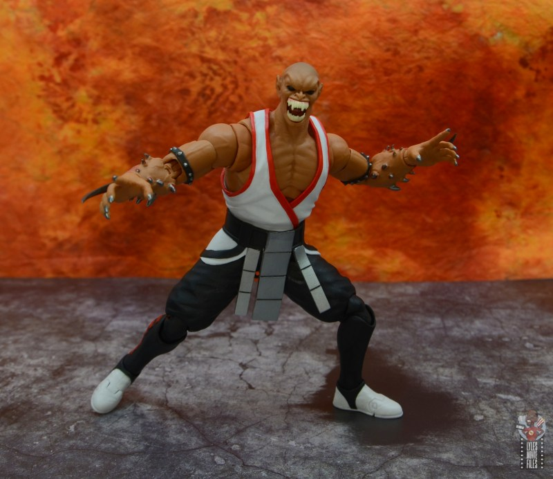 storm collectibles mortal kombat baraka figure review - wide stance