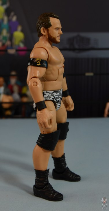 wwe elite 72 roderick strong figure review - right side