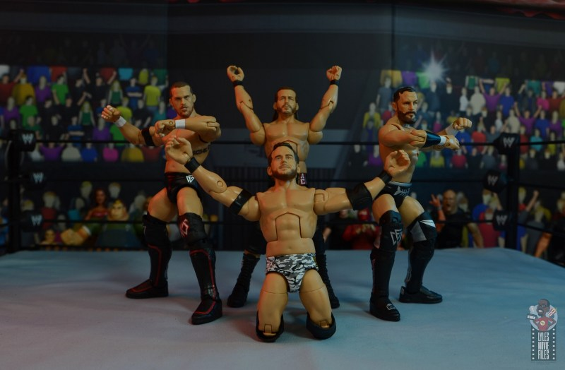 wwe elite 72 roderick strong figure review - undisputed era pose