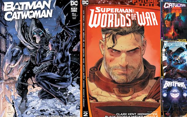 dc comics reviews 2-16-21 -batman catwoman 3