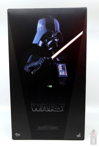hot toys empire strikes back darth vader figure review - package front