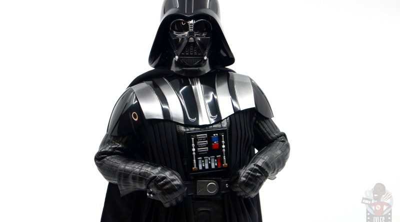 hot toys empire strikes back darth vader figure review - wide stance