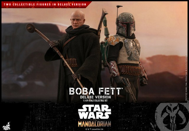 hot toys the mandalorian boba fett figure -main pic