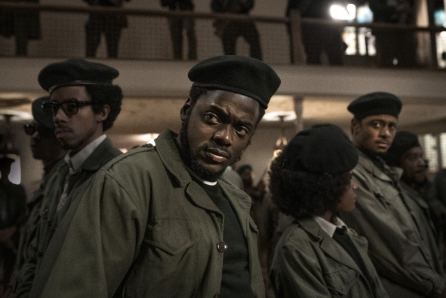 judas and the black messiah review -darrell britt-gibson, daniel kaluuya and lakeith stanfield