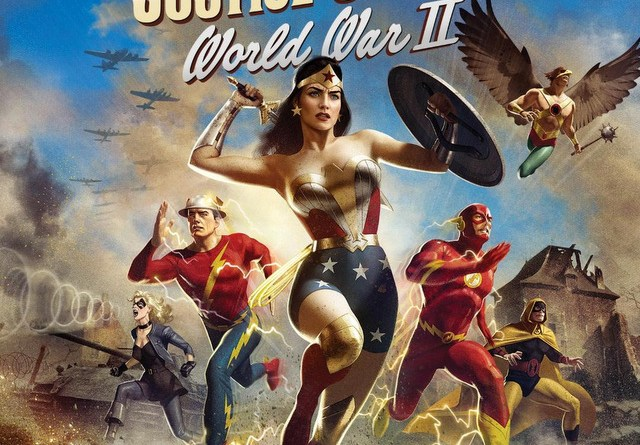 justice society: world war 2 cover