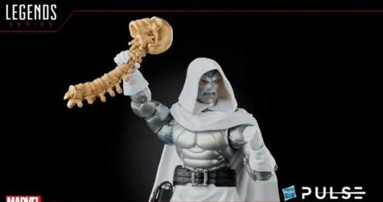 marvel legends fan first friday - dr doom with thanos skull