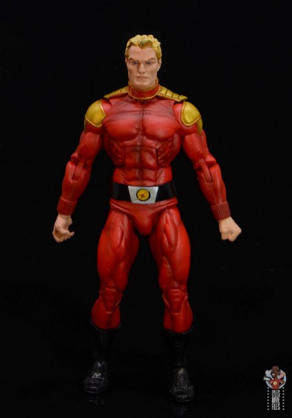 neca defenders of the earth flash gordon figure review - front