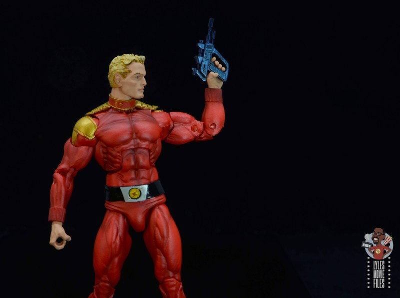 neca defenders of the earth flash gordon figure review - raising blaster
