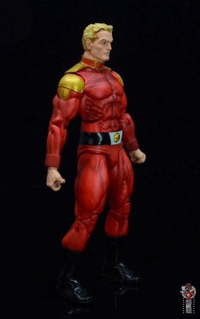 neca defenders of the earth flash gordon figure review - right side