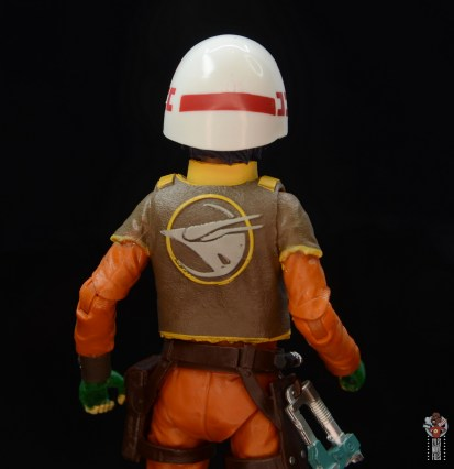 star wars the black series ezra bridger figure review - helmet rear