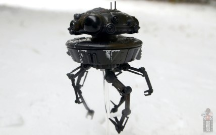 star wars the black series imperial probe droid figure review -on the hunt