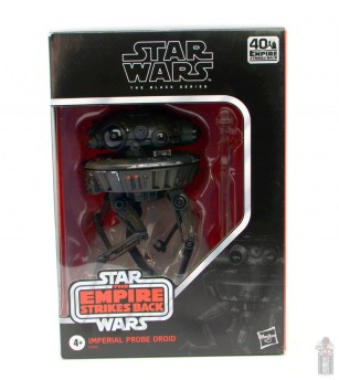 star wars the black series imperial probe droid figure review - package front