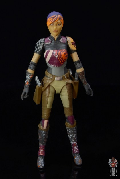star wars the black series sabine wren figure review - front