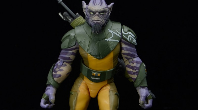 star wars the black series zeb orrelios figure review - walking