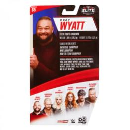 wwe elite 85 bray wyatt -package rear