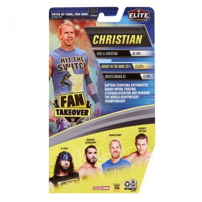 wwe fan takeover series 2 christian -package rear