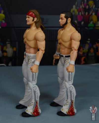 aew the young bucks figure review - left side